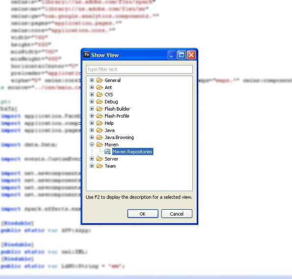 Installing m2eclipse in Flash Builder